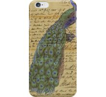 Vintage Peacock Iphone Case iPhone Case/Skin