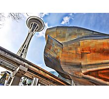 Seattle's CRazY Creations Photographic Print