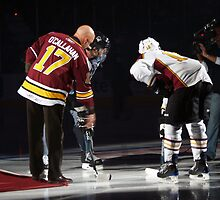 Opening Puck Drop by Anthony Roma