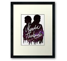 Murder Husbands [Galaxy] Framed Print