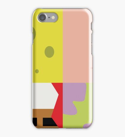SpongeBob Poster iPhone Case/Skin