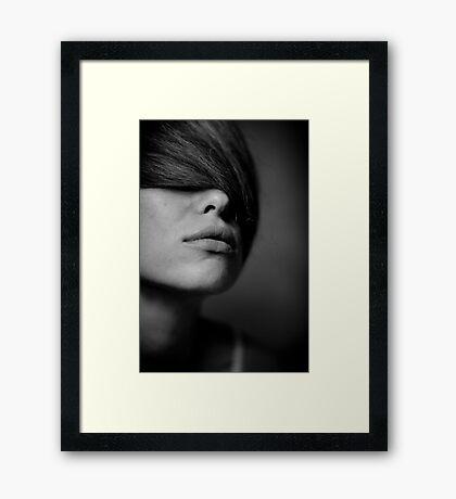 take a breath again Framed Print