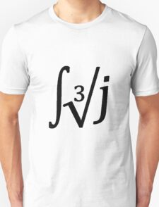 Integral Cubic Root of J Unisex T-Shirt