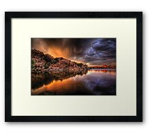 ColorStorm Framed Print