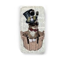 Vintage Steampunk Cat Iphone Case Samsung Galaxy Case/Skin