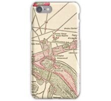 Washington DC Vintage Map Iphone Case iPhone Case/Skin