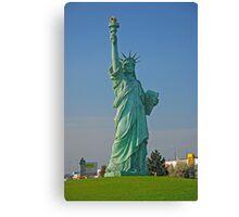 Statue of Liberty at Colmar  Canvas Print
