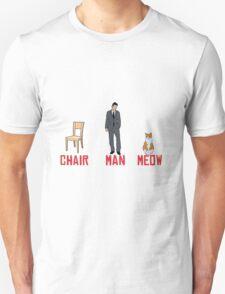 chari man meow T-Shirt