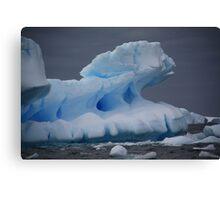 Antarctic icebergs. Canvas Print