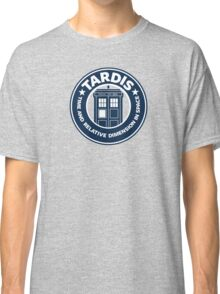 Tardis Coffee Classic T-Shirt