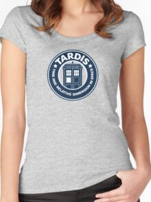 Tardis Coffee Women's Fitted Scoop T-Shirt