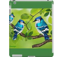 Blue jays (3560 views) iPad Case/Skin