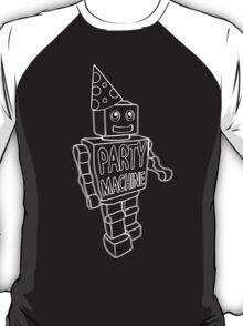 Part Machine (white outlines) T-Shirt