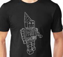 Part Machine (white outlines) Unisex T-Shirt