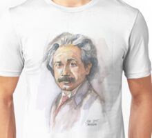 Albert Einstein Portrait Unisex T-Shirt