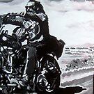 Born to ride by db artstudio by Deborah Boyle