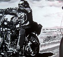 Born to ride by db artstudio by Deborah Boyle