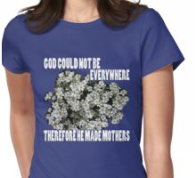 jewish mothers quote  Womens Fitted T-Shirt
