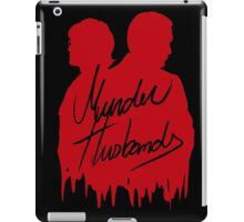 Murder Husbands [Red/Black] iPad Case/Skin