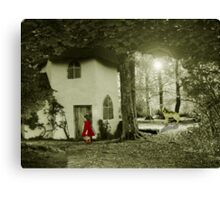 Little Red Riding Hood.. Canvas Print