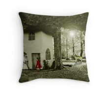 Little Red Riding Hood.. Throw Pillow
