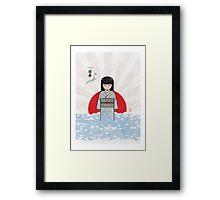 Japan Tsunami 2011 Framed Print
