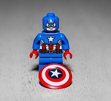 Captain America  by garykaz