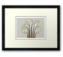 Springtime Blooms-Tree Art Framed Print
