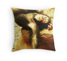 Waiting for a Cuddle! Throw Pillow