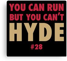 Carlos HYDE Canvas Print