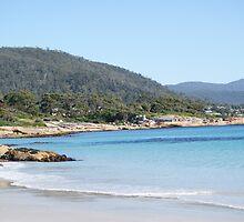 beautiful beach by Mikayla House