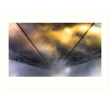 ...and as the rift opens Art Print