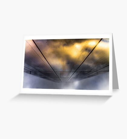 ...and as the rift opens Greeting Card
