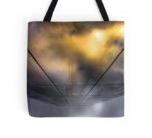 ...and as the rift opens Tote Bag