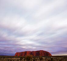 Uluru Cloud Race by Milton Gan