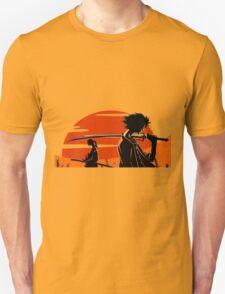 samurai champloo mugen jin anime manga shirt T-Shirt