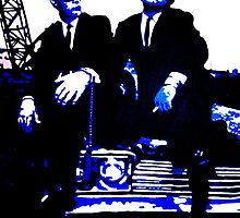 Blues Brothers iconic pop art piece by artist Debbie Boyle - db artstudio by Deborah Boyle