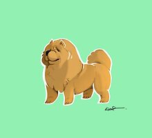 Chow Chow by EmmaPennington