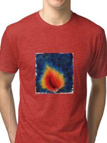 Candle flame Tri-blend T-Shirt