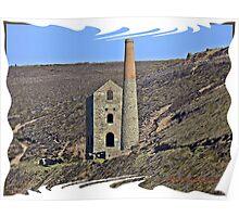 """ Cornish Mines"" Poster"