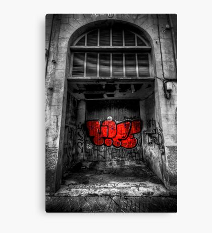 Would you sleep here? Canvas Print
