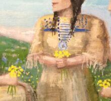Prairie Flowers  Sticker