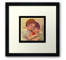 'Sisters', the Red Ball #2 Framed Print