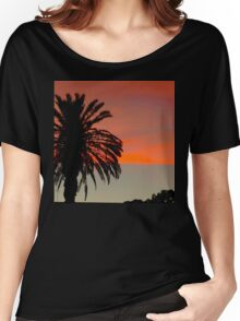 Central Coast Sunset Women's Relaxed Fit T-Shirt