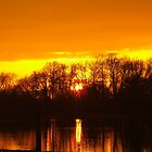Lake Sunset by Shilling Snaps