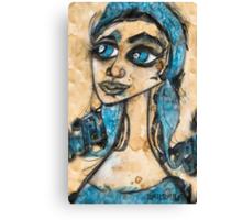 MY BLUE BELLE Canvas Print