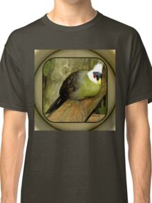 White-Crested Turaco ~ a Green Bird Classic T-Shirt