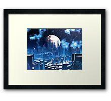 City of Elevatia - Planet Kiros Framed Print