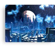 City of Elevatia - Planet Kiros Canvas Print