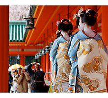 Spring Festival at Heian Shrine Photographic Print